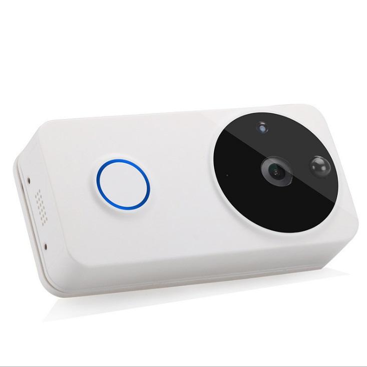 Door bell with door release and tamper alarm via app remote