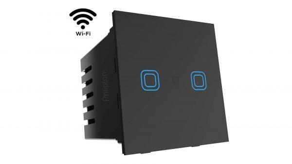 Phlipton 2 Touch 16A Modular touch Switch