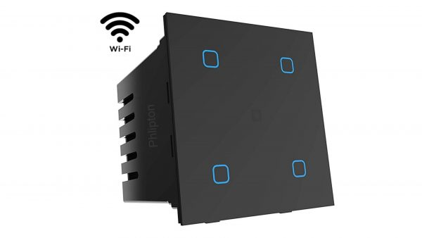 Phlipton 4 Touch Wifi 6A Touch Switch